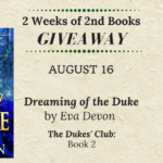 2 Weeks of 2nd Book Giveaway Aug 16
