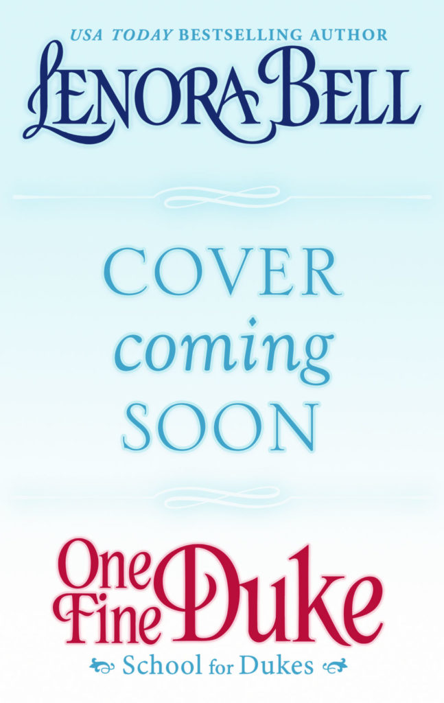 One Fine Duke (Cover Coming Soon)