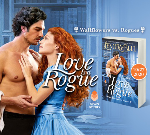 Love Is a Rogue is Available for Pre-Order!