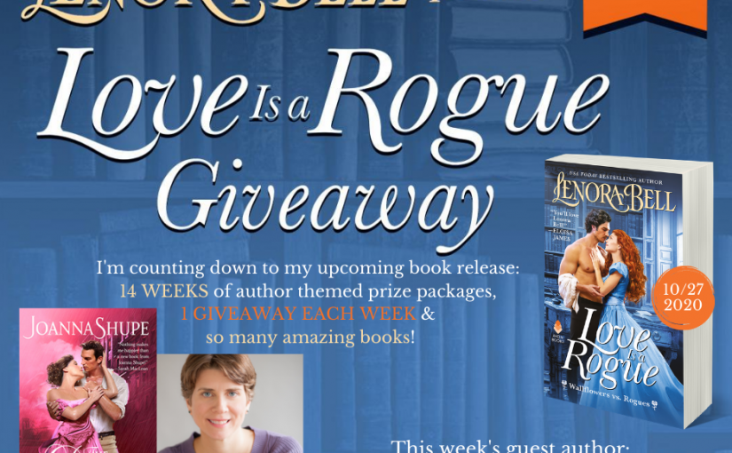 Love Is a Rogue GIVEAWAY WEEK 13