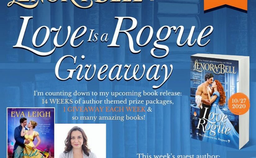Love Is a Rogue GIVEAWAY WEEK 14
