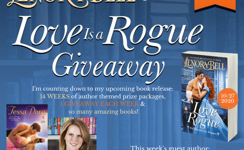 Love Is a Rogue GIVEAWAY WEEK 11