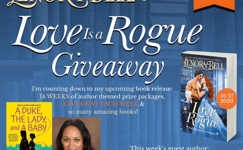 Love Is a Rogue GIVEAWAY WEEK 12