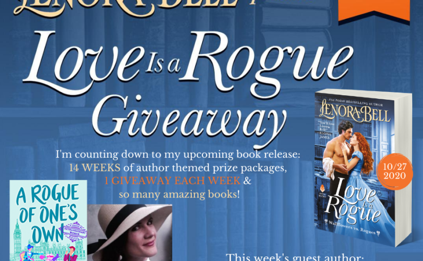Love Is a Rogue GIVEAWAY WEEK 9 (and a recap of Week 10)