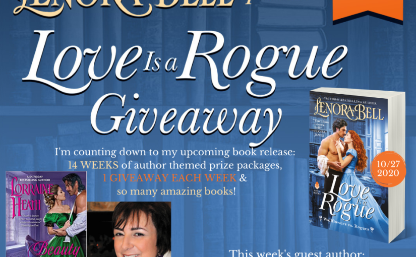 Love Is a Rogue GIVEAWAY WEEK 6