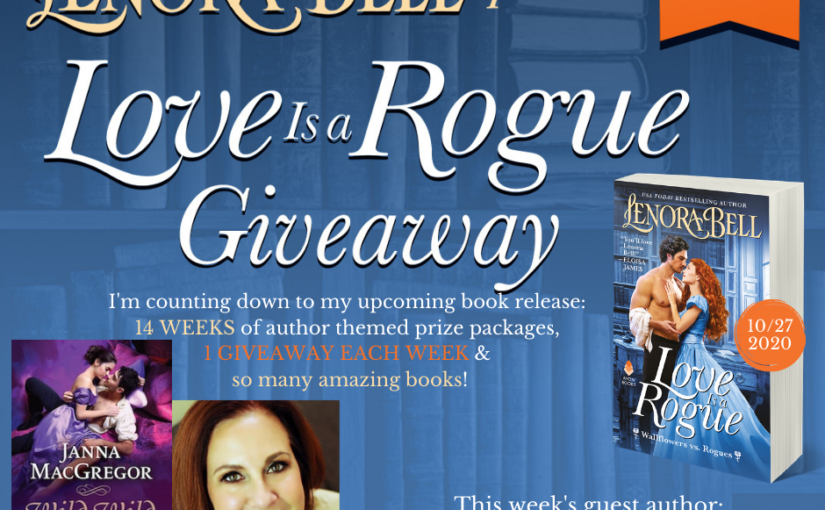 Love Is a Rogue GIVEAWAY WEEK 5