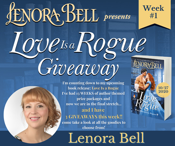 Love Is a Rogue GIVEAWAY GRAND PRIZE!