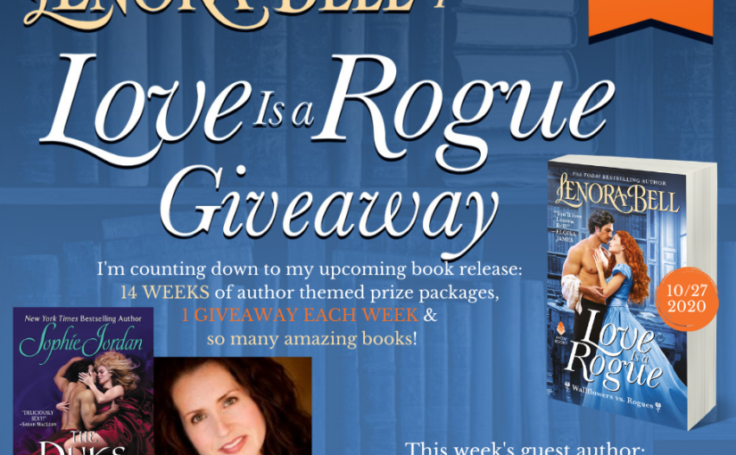 Love Is a Rogue GIVEAWAY WEEK 3 (and a recap of Week 4)