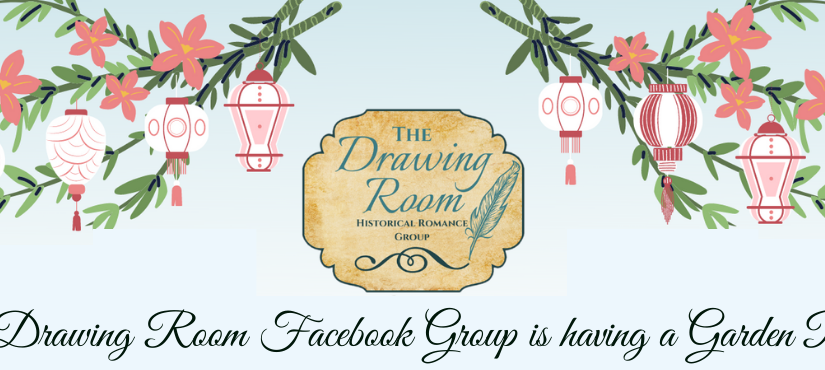 Join me at a Garden Party in the Drawing Room FB Group