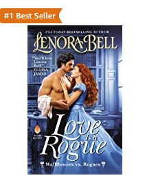 LOVE IS A ROGUE is a #1 Amazon Best Seller!